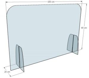 Cloison séparation de bureau plexi - Devis sur Techni-Contact.com - 4