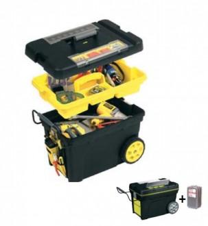 Coffre de chantier roulant - Devis sur Techni-Contact.com - 1