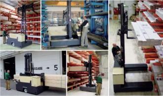 Chariot latéral électrique 2500 Kg - Devis sur Techni-Contact.com - 1