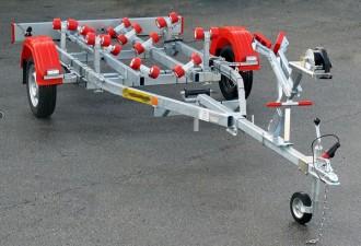 Remorque porte bateau à moteur 800 kg - Devis sur Techni-Contact.com - 1