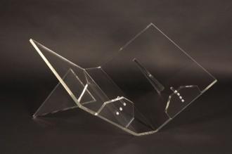 Lutrin cristal fixe couché pour livre A3 et A4 - Devis sur Techni-Contact.com - 1