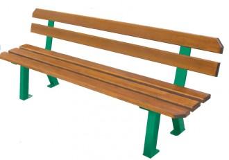 Banc d'extérieur en bois traité - Devis sur Techni-Contact.com - 1