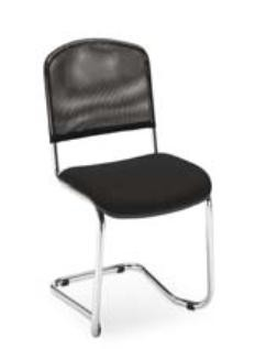 Chaise luge empilable noir - Devis sur Techni-Contact.com - 1