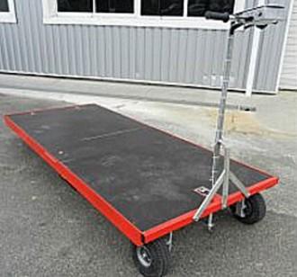 Chariot motorisé pour charges lourdes - Devis sur Techni-Contact.com - 1