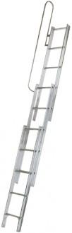 Escalier escamotable en aluminium - Devis sur Techni-Contact.com - 1