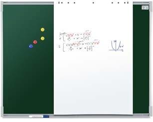 Tableau blanc et craie - Devis sur Techni-Contact.com - 1