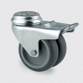 Roulette à moyeu lisse pour appareil - Devis sur Techni-Contact.com - 1