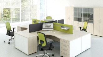 Bureau de travail opératif ergonomique - Devis sur Techni-Contact.com - 1