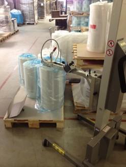 Chariot manipulateur de bobines 130 Kg - Devis sur Techni-Contact.com - 1