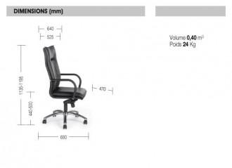 Fauteuil de direction Strip Luxe - Devis sur Techni-Contact.com - 2