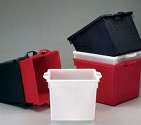 Bac plastique industriel 65 L - Devis sur Techni-Contact.com - 1
