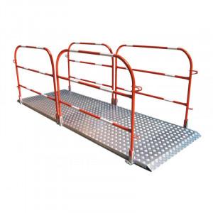 Passerelle de chantier en aluminium - Devis sur Techni-Contact.com - 1