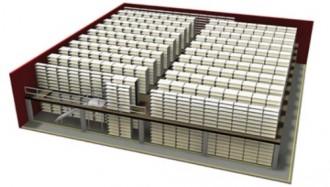 Plateforme de stockage industrielle à poteaux - Devis sur Techni-Contact.com - 2