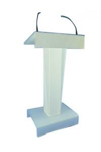 Pupitre orateur plexiglas - Devis sur Techni-Contact.com - 1