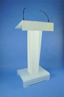 Pupitre orateur plexiglas - Devis sur Techni-Contact.com - 2