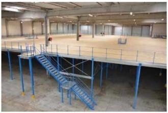 Mezzanine de stockage modulable - Devis sur Techni-Contact.com - 1