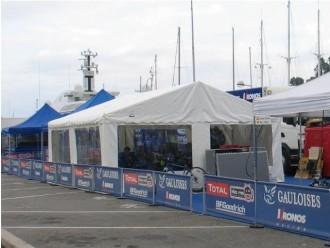 Tente de réception 15 x 5 mètres - Devis sur Techni-Contact.com - 1