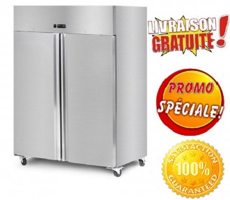 Armoire réfrigérée en inox 1400 Litres - Devis sur Techni-Contact.com - 1