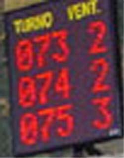 Affichage pour file d'attente - Devis sur Techni-Contact.com - 1