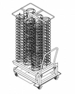 Chariot porte-assiettes professionnel - Devis sur Techni-Contact.com - 2