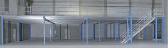 Plateforme mezzanine industrielle autoporteuse - Devis sur Techni-Contact.com - 1