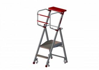 Escabeau aluminium pliable - Devis sur Techni-Contact.com - 1