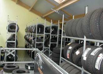 Rayonnage pneu double face - Devis sur Techni-Contact.com - 2
