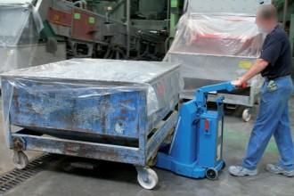 Tracteur pousseur industriel 15T - Devis sur Techni-Contact.com - 1