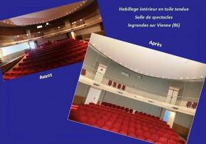 Toile tendue - Salle de spectacle - Devis sur Techni-Contact.com - 2