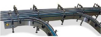 Convoyeur courbe à tapis modulaire - Devis sur Techni-Contact.com - 1