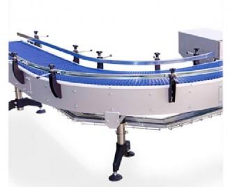 Convoyeur courbe à tapis modulaire - Devis sur Techni-Contact.com - 2