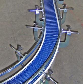 Convoyeur courbe à tapis modulaire - Devis sur Techni-Contact.com - 4