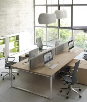 Bureau de travail simple et classique - Devis sur Techni-Contact.com - 3