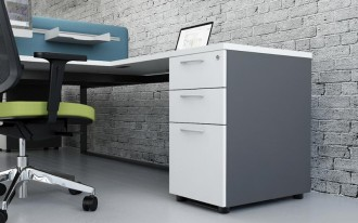 Bureau de travail simple et classique - Devis sur Techni-Contact.com - 4