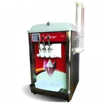 Machine à glace italienne de comptoir à 2 compresseurs - Devis sur Techni-Contact.com - 1