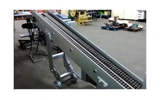Convoyeur à chaîne à châssis tubulaire - Devis sur Techni-Contact.com - 1