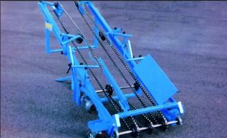 Convoyeur à chaîne à châssis tubulaire - Devis sur Techni-Contact.com - 2