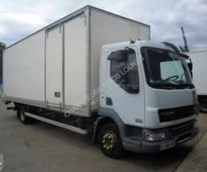 Location camion fourgon polyfond DAF occasion norme Euro 5 - Devis sur Techni-Contact.com - 1