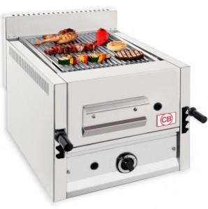 Grill à pierre de lave professionnel de comptoir - Devis sur Techni-Contact.com - 3