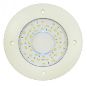 PLAFONNIER LED ROND A PLAQUER BLANC CHAUD - 9/32V - Devis sur Techni-Contact.com - 1