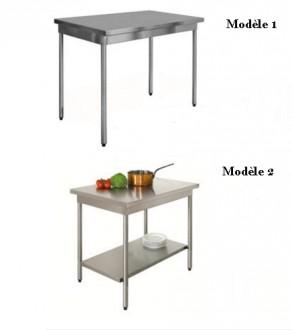 Table inox sur mesure - Devis sur Techni-Contact.com - 1