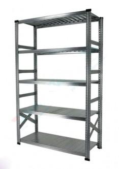 Rayonnage métallique en acier galvanisé - Devis sur Techni-Contact.com - 1
