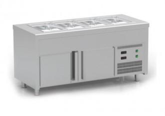 Meuble avec cuve réfrigérée et avec réserve - Devis sur Techni-Contact.com - 1