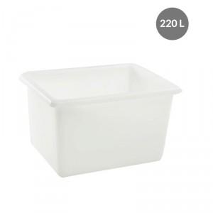 Bac alimentaire grand volume blanc - Devis sur Techni-Contact.com - 1