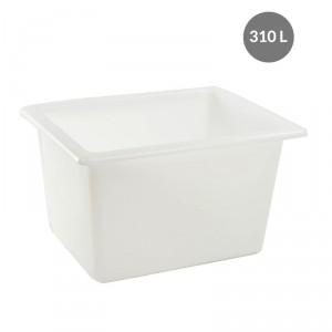 Bac alimentaire grand volume blanc - Devis sur Techni-Contact.com - 2