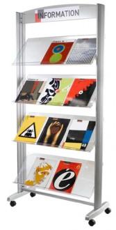 Présentoir d'exposition pour brochures - Devis sur Techni-Contact.com - 1