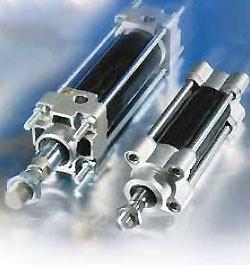 Vérin à tirant en Aluminium Epoxy - Devis sur Techni-Contact.com - 1