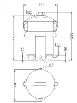 Eplucheuse 5 Kg à cuve amovible - Devis sur Techni-Contact.com - 2