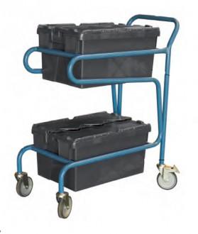 Chariot à 2 bacs - Devis sur Techni-Contact.com - 1