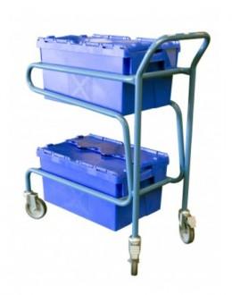 Chariot à 2 bacs - Devis sur Techni-Contact.com - 2